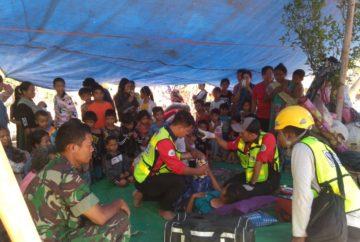 AMC Peduli Gempa Lombok